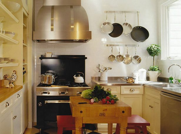 kitchen designs for a small kitchen: Small Elegannce But Good Wooden Equipped Kitchen ~ stevenwardhair.com Desks Inspiration