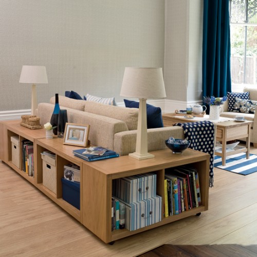 Inspiration Ideas To Save Space For Tiny Room: Smart Storage Decoration To Save The Space With Living Room Design And Traditional Custom Bookcase And Open Shelves Interior And Sideboards And Baskets With Parquet Floor Design