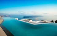 Spectacular Infinity Pool 2 : Spectacular Aureasf Infinity Pool Outdoor Design With Table Chair Bay View Ideas