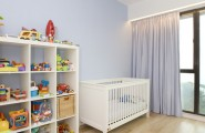 Amazing Toy Storage Cabinets : Storage Spaces Are Maximized Within Both Rooms For Toys Books And Accessories