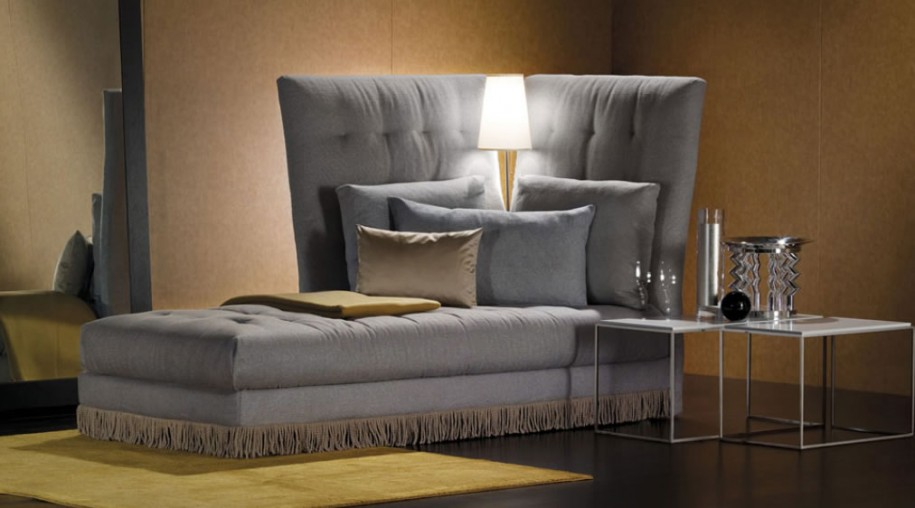 Glamourous Stylish Italian Furniture With Astonishing Details: Stunning Gray Sleeper With A Dazzling Selection Of Flooring Materials And Sofa Bed Modern Italian Furniture Design