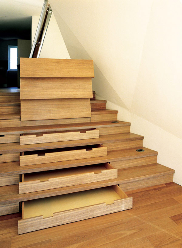 Inspiring Storage Design Under Staircase: Stunning Hidden Storage With Interesting Nice Laminated Wooden Stair Steps Design And Under Stair Storage Wood Floor