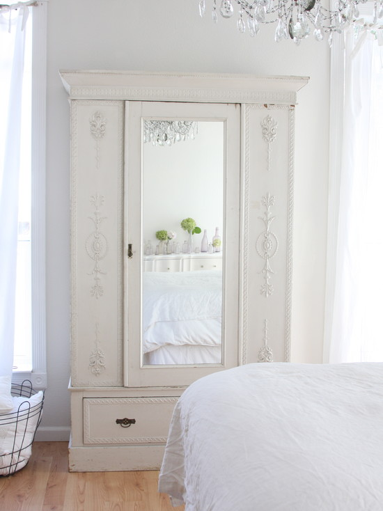 Vintage And Antique Chifferobe With Mirror : Surprising Eclectic Bedroom Antique Chifferobe With Mirror Great Piece Of Furniture Especially Is Your Closet Is Running Tight On Space For Hanging Clothes Made Of Dark Varnished Wood