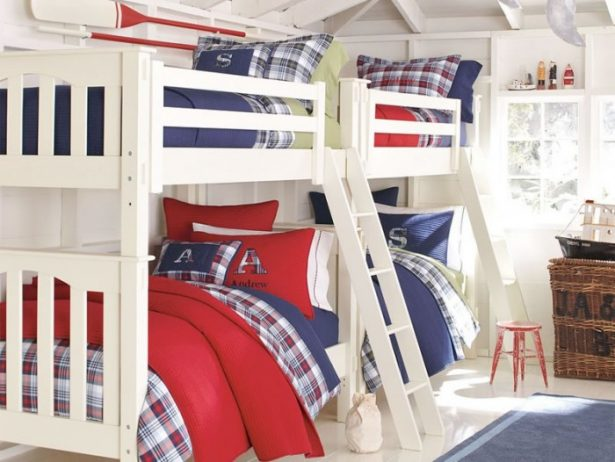 Innovative Boys Room Decoration with Unique Ideas: Terrific Inspiring Bunk Bed Boys Room Designs Ideas Modern Small Space Design Vintage Cabinet Great Light ~ stevenwardhair.com Bed Ideas Inspiration
