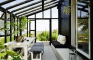 Perfect Sunroom Design Ideas To Relax While Enjoying A View : Terrific Natural Energies With Perfect Furniture Room Layout And Accent Pieces And Bringing In Beautiful Natural Light With Small Sunroom Garden