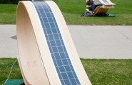 The SOFT Rocker: MIT's Power Generator Lounge : The Leaf Like Loop Form Of The SOFT Rockers Explores How Standard Softwood Panels Customized To Adapt To The Latitude And Sun Angle Of Any Site