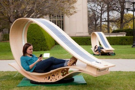 The SOFT Rocker: MIT's Power Generator Lounge: The SOFT Rocker Smart Combines Hi Tech And Low Tech Design Strategies