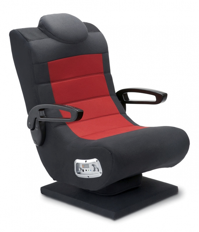 Pictures Of Best Hi-Tech Computer Chair For Gaming : The X Cooper Gaming Chair With Base Wireless Features A Tilting Base That Allows You To Move With The Action And Speakers And A Subwoofer