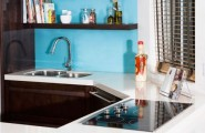 Modern Kitchen Designs for Small Spaces : Tiny Kitchen Without Wasted Space1