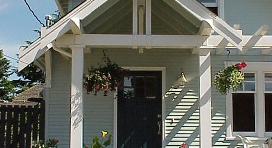 How To Design A Front Porch : Traditional Entry Classic Front Porch Design