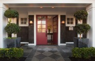 How To Design A Front Porch : Traditional Exterior Colonial Design With Inspiration From The East Coast A Classic American Home With Fantastic Street Appeal