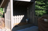 Oustanding Wood Shed Ideas : Traditional Exterior Firewood