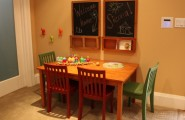 Exciting Kids Craft Table With Storage : Traditional Kids Room With Wooden Kids Craft Table With Storage And Chairs