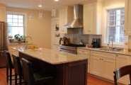 Cozy Schuler Cabinets Pictures : Traditional Kitchen With Giallo Ornamental Granite Countertops And Schuler Cabinets In Windsor Maple Door Style