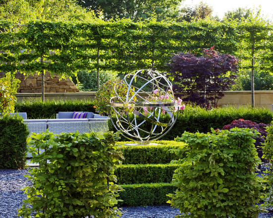 Surprising Good Trees For Privacy: Traditional Landscape The Espalier Trees Make A Great Screen Privacy With Hedges And Plants Like The Fence