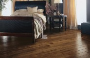 Solid and Hardest Wood Flooring for Our Home : Traditional Wood Flooring At Master Bedroom