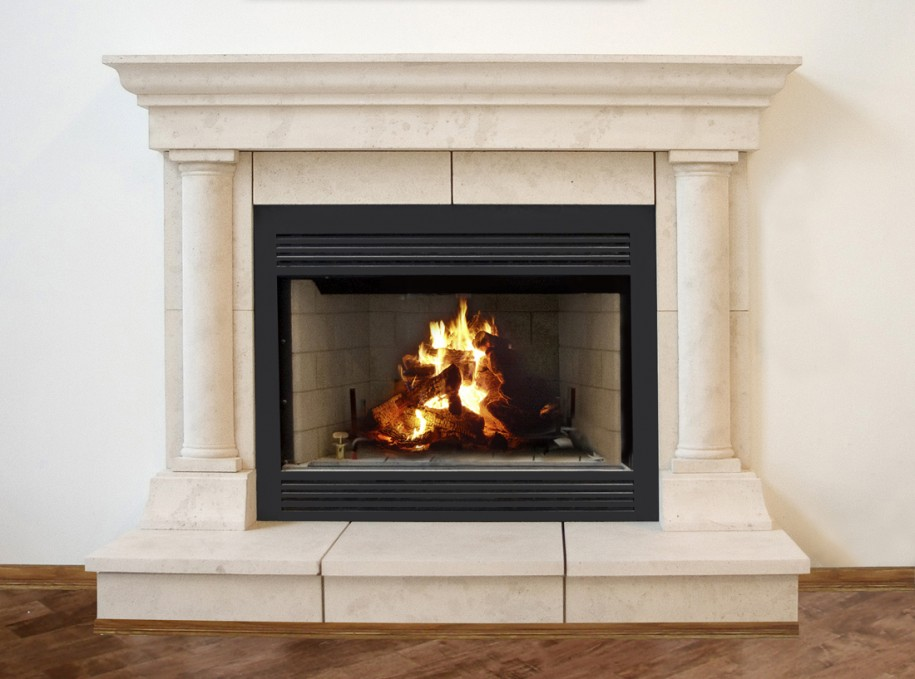 Modern Stone Models Fireplace For Simple Home Decoration: Tuscan Cast Stone Fireplace Mantels Contemporary Fireplace Mantels