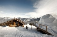 Winter Vacation Destination : WhitePod Alpine Ski Resorts In Swiss Alps : WhitePod Alpine Ski Resort Is An Unique Hotel Concept Where Ecotourism And Luxury Combine