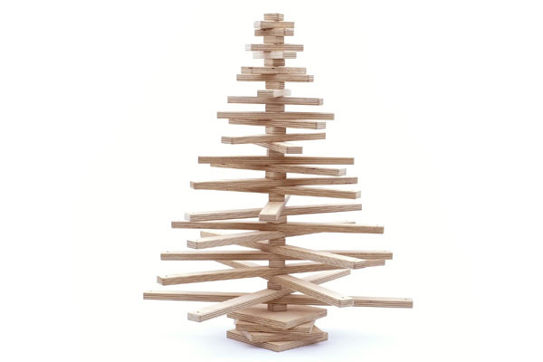 OneTwoTree: Inspiring Sustainable Christmas Tree Design Ideas: With A Hole Drilled In The Middle Of Each Branch An Eco Friendly One Two Tree Christmas Tree Enables You To Create A Unique Look That Can Be Updated Year After Year