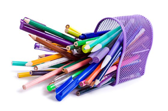 How To Organize Your Office Desk Space: Organized Pencils And Pens Ideas Throw Out Pens That Are Missing Caps Pencils With Worn Out Erasers And Keep The Tools You Like And Use The Most At Hand