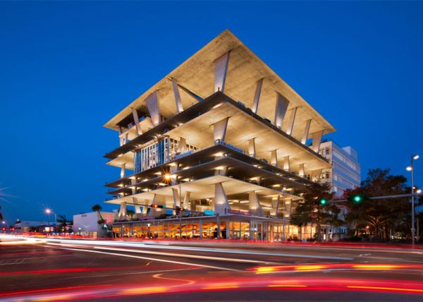 Awesome Parking Garage Designs; 11 Amazing Images: 1111 Lincoln Road Parkind Space