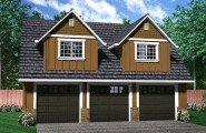 Garage Apartment Plans With Creative Sense : 3 Car Garage Apartment Ideas