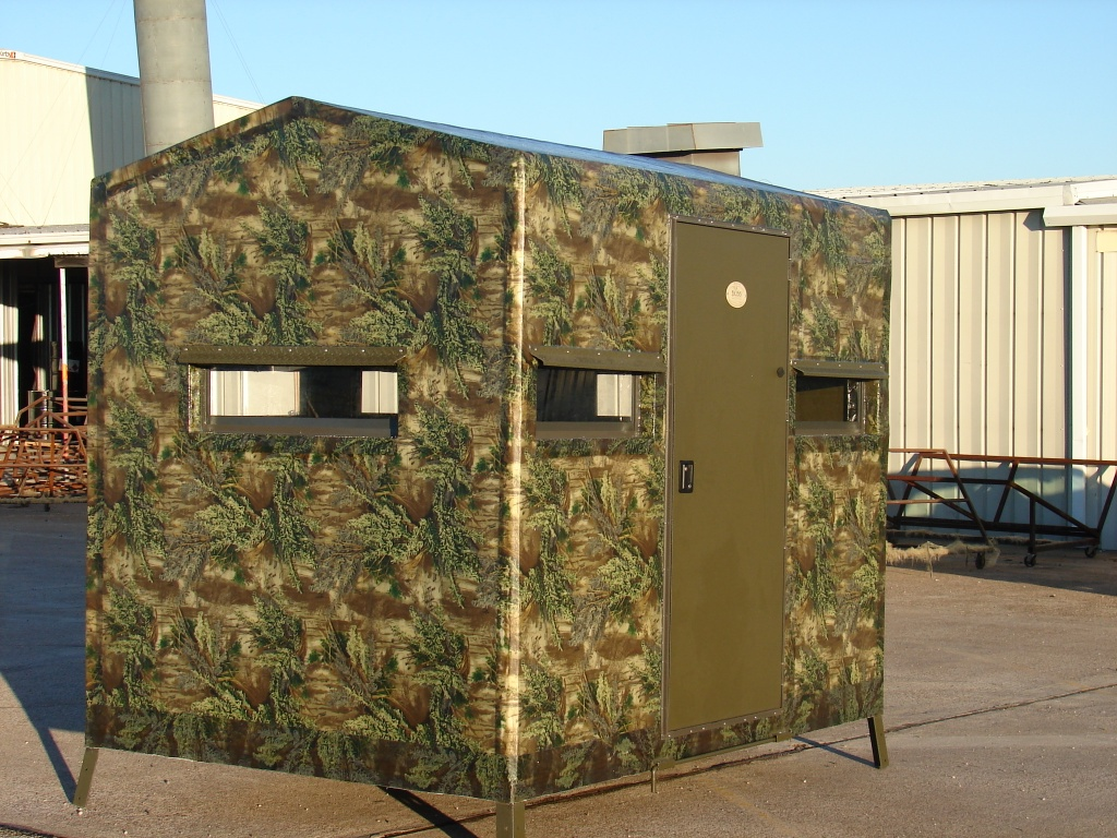 Deer Blind Window For Your Hunting Season: 6x8 Camo Deer Blind Window