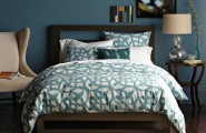 Make Elegant Your Room With These Modern Headboards : A Low Wooden Headboard With A Cutout Design