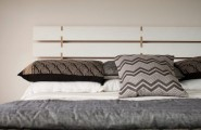 Make Elegant Your Room With These Modern Headboards : A Modern Plywood Headboard