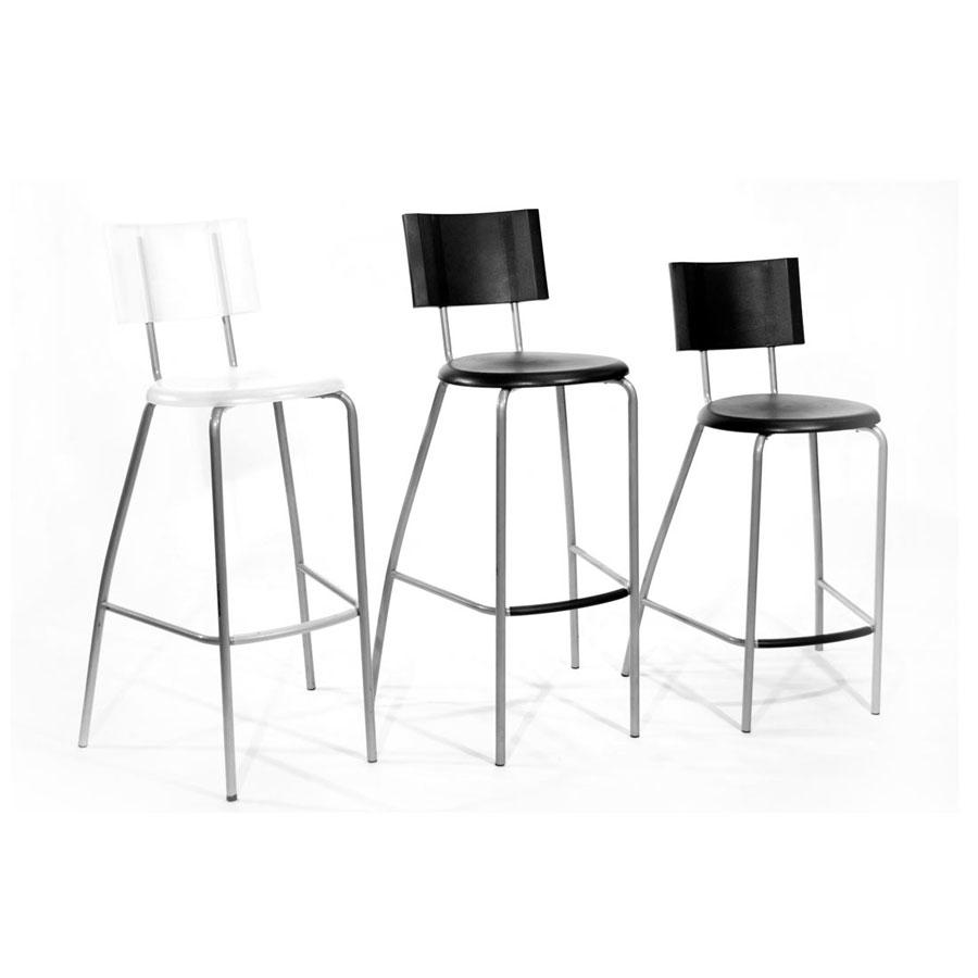 Make Clear Space Look With Stylish Acrylic Chairs: Acrylic Bar Stool Bar Stools