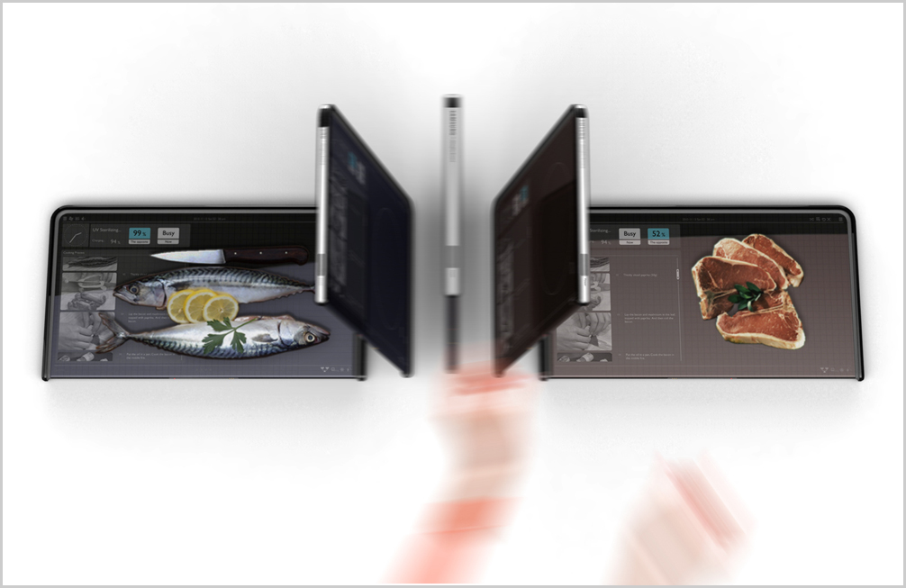 High End Kitchen Gadget For Your Kitchen: Almighty Board By Yanko Design