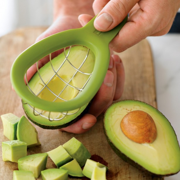 Chic Kitchen Gadgets To Save Your Time And Energy: Amazing Advocado Cuber For Your Kitchen Stuff Inspiration House ~ stevenwardhair.com Kitchen Designs Inspiration