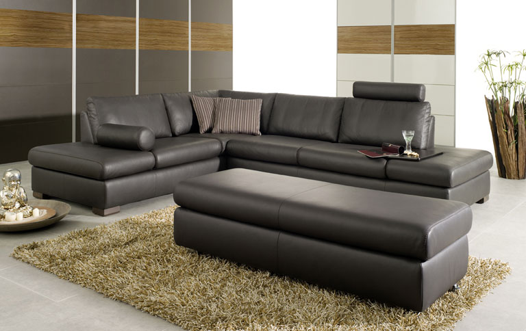Schillig Sofa Perfect Furniture In A House Or In An Office: Amazing Black Schillig Sofa Conemporary Style Rug Wooden Wall Panel