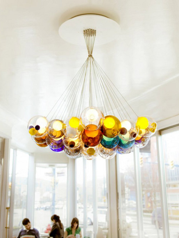 The Italian Chandelier As Your Aesthetic Light: Amazing Glass Ball Chandeliers By Bocci