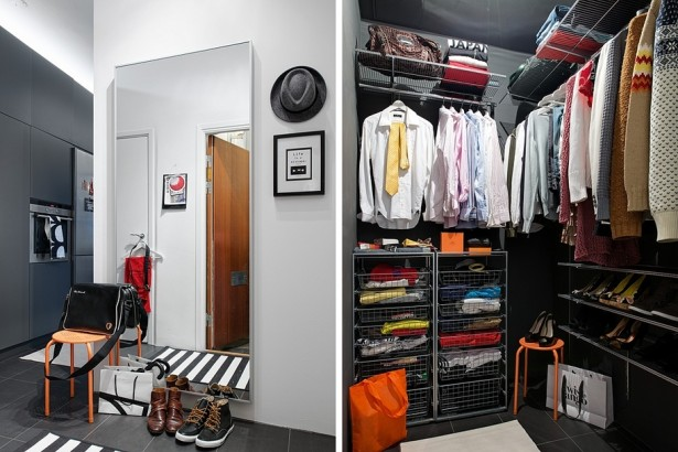 Store Neatly And Cleverly; Some Apartment Closet Ideas: Amazing Gray Modern Style Walk In Apartment Closet Ideas ~ stevenwardhair.com Closets Inspiration