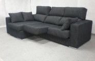 Modern Sofas For More Comfortable Living Room : Amazing Modern Style Black Sofas Baratos Provides Dashing Effects