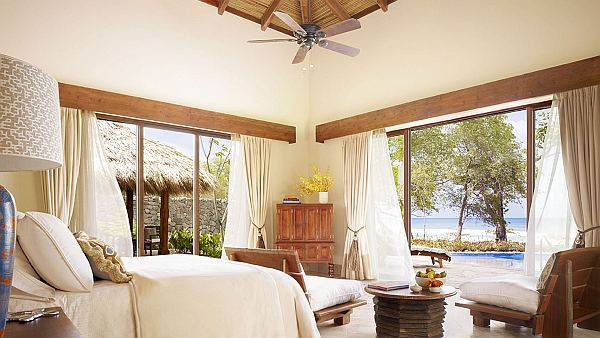 Luxurious Mukul Resort And Spas In Nicaragua: 15 Amazing Pictures: Amazing Ocean View Bedroom