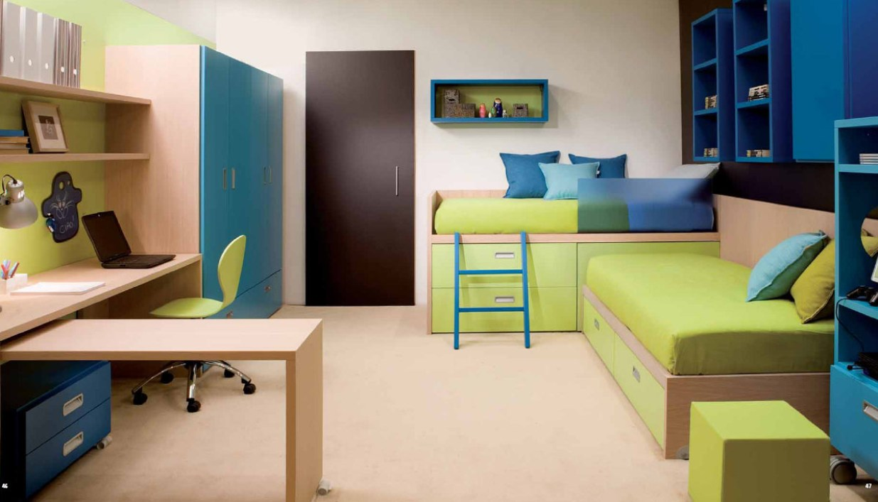 Great Sofa Beds For Small Bedrooms Design: Amazing Sofa Beds For Small Bedrooms Colorful Furniture Storage Bed Desk Wardrobe