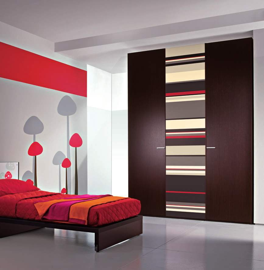 Wardrobe Designs, Integrated And Out Of Imagination: Amazing Wardrobe Designs Ideas Unique Bedroom Interior Design