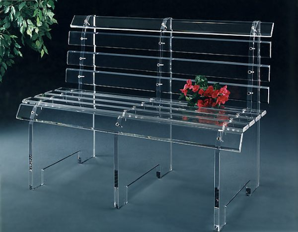 Acrylic Tables For Your Choice Of Unique Furniture: An Acrylic Bench