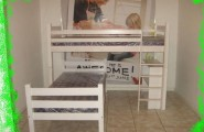 Simple L Shaped Bunk Beds For Small Bedroom Space : Appealing L Shaped Bunk Beds In Simple Design