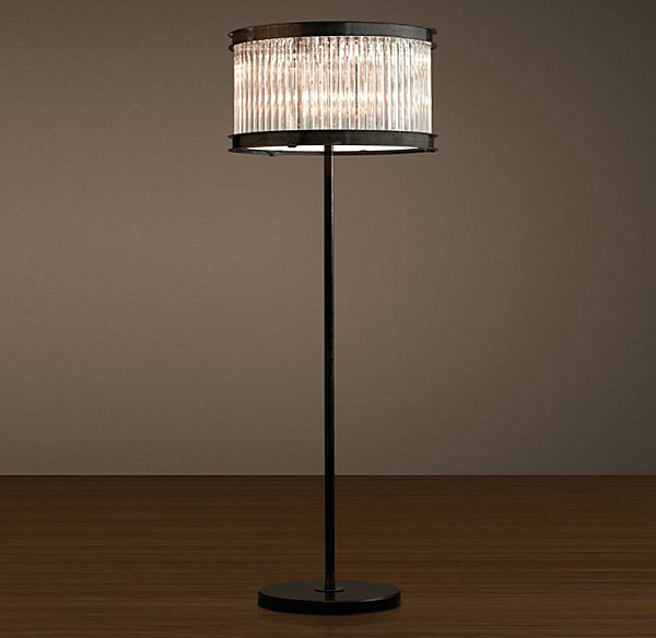 Well Dressed Art Deco Furniture (20 Ideas): Art Deco Style Lamp