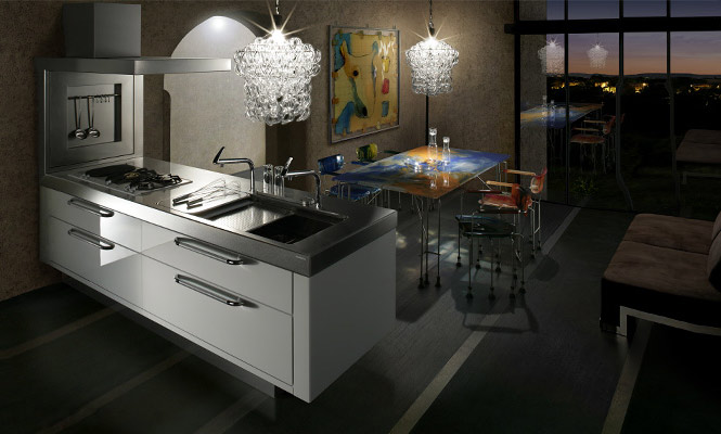 Contemporary Japanese Kitchen Design: Artist Kitchen