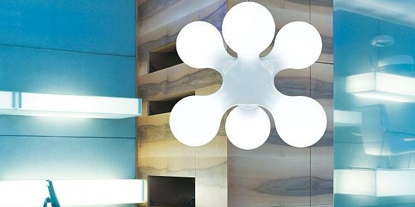 8 Cool Lamp Designs For Kids And Teenagers Room For Your Better Brainwave : Atomium Lighting Design By Kundalini