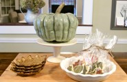 Fall Themed Dining Room To Stimulate Your Appetite : Autumn Pumpkin Decor Idea