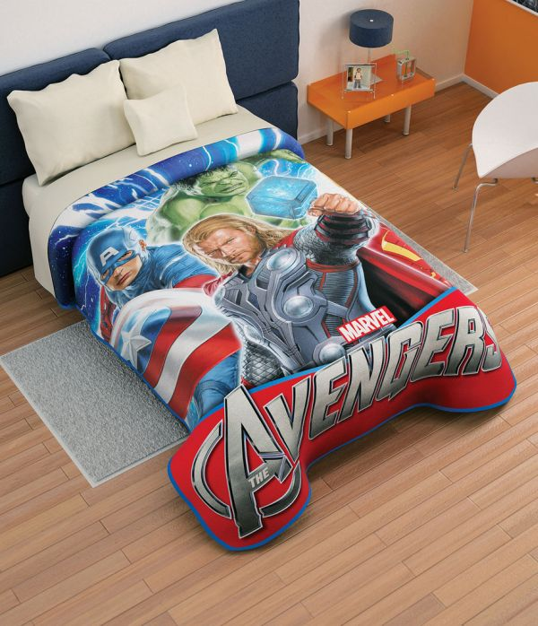 Attractive Superhero Bedding For A Lively Room : Avengers Bed Sheets For Kids