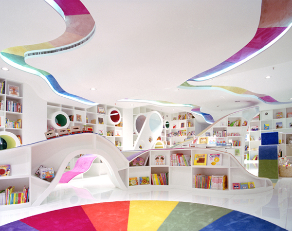 Fun Kids Space With Large Space: Awesome Modern Kids Playground With Colorful Decoration Ideas ~ stevenwardhair.com Kids Room Inspiration