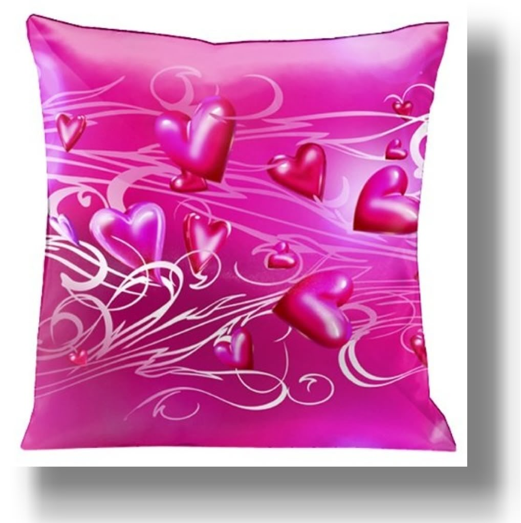 Pink Sofa Pillows Custom Made Inspirations: Awesome Pink Sofa Pillows Hearts Pink Color Design Ideas