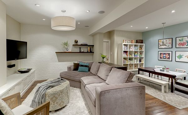 Excellent Ideas And Designs For Renovating A Basement : Basement Home Theater Ideas