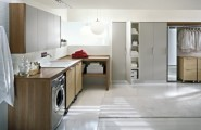 Functional Basement Laundry Room Ideas With Elegant Neat Arrangements : Basement Laundry Room Ideas